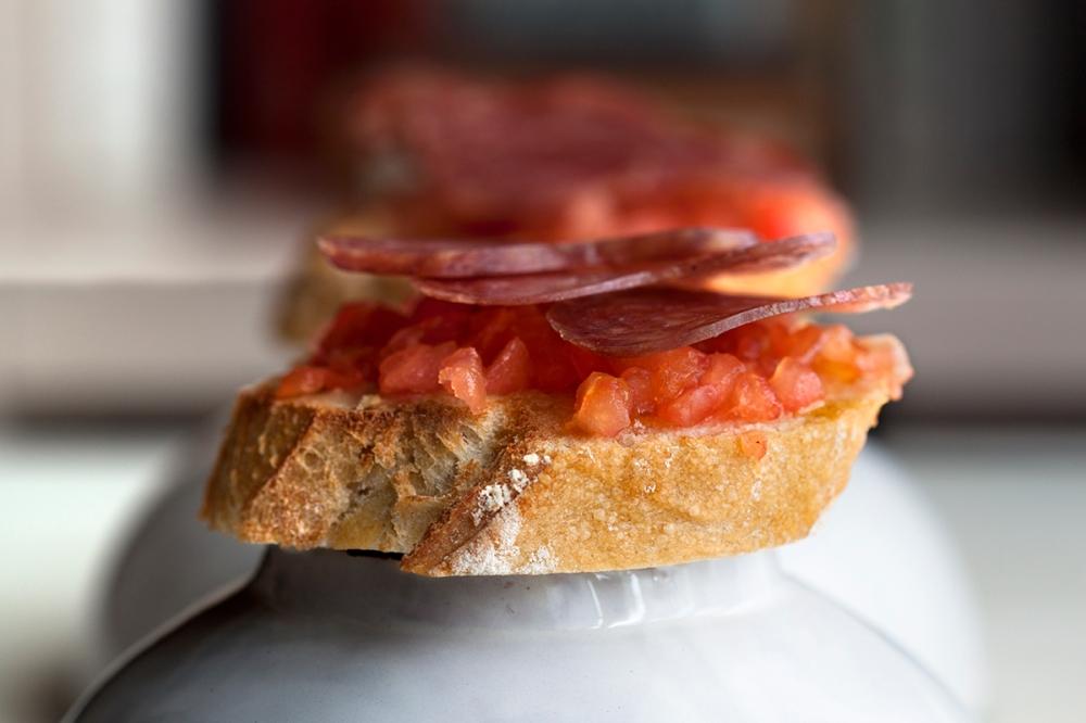 longaniza con tomate-1